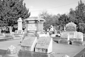 The Sacramento Historic City Cemetery is located at 1000 Broadway. Photo by Lance Armstrong