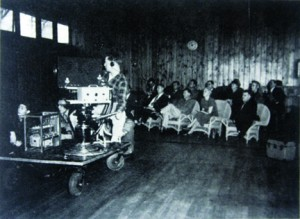 Grant Technical College offered a television course during the 1940s and 1950s. Photo courtesy of the Lance Armstrong Collection