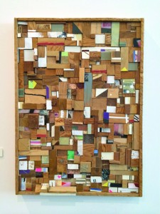Nathan Cordero, untitled, Wood, mixed media, 18 inches by 25 inches