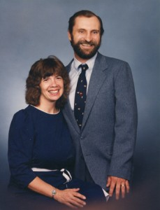 Ken and Ruth Noblett are shown in this 1990 photograph. Photo courtesy of Ruth Noblett