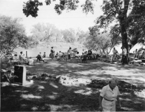 Riverview club members gather together along the American River. Photo courtesy of Riverview II