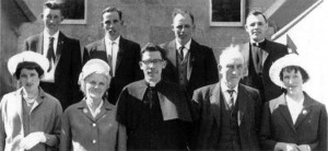 The Rev. Dan Madigan is pictured at center with his mother, father and siblings on the day of his ordination on June 7, 1964. Photo courtesy of the Rev. Dan Madigan