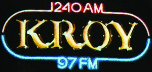 The now defunct Sacramento AM radio station KROY made its debut in 1937. Its history also includes the operation of the FM station, KROI – later KROY FM. Photo courtesy of the Lance Armstrong Collection