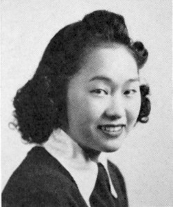 This photograph from the 1941 C.K. McClatchy High School yearbook shows Rose Ishimoto, who would later become Rose Takata.