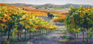 """Patchwork of Vines"" by Rhonda Egan"