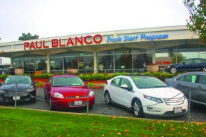 Paul Blanco's Good Car Co. at 2200 Fulton Ave. is among the businesses that sit on a site that was once proposed for a small plane airport, complete with two runways, hangars and other structures. Photo by Lance Armstrong
