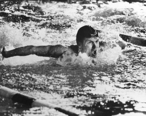 Former Carmichael resident Mike Burton was once Arden Hills' best known swimmer. / Photo courtesy of Arden Hills