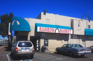 The original Farmers Market building at 3810 Marysville Blvd. has housed Rainbow Market since about 1964. / Photo by Lance Armstrong