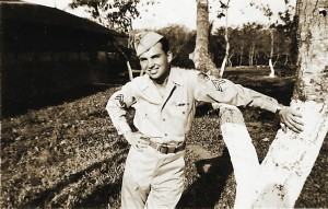Jim McFall served his country in both the Navy and the Army Air Corps during World War II. Photo by Lance Armstrong