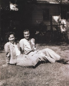 Herbert and Inez Yee are shown during their younger years in Sacramento. Photo courtesy of Yee family