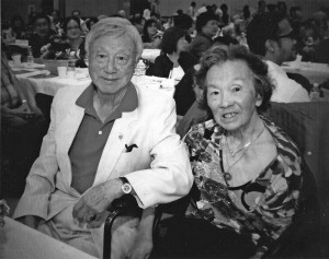 Herbert and Inez Yee, shown September 14, 2013 photograph, recently celebrated their 70th anniversary. Photo by Tom Chan