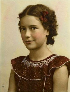 Dolores Silva, the then-future Dolores Greenslate, is shown at age 12. Photo courtesy of Dolores Greenslate