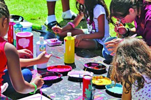Face painting may be one of the many activities if Art in the Park takes off this summer in William Land Park.