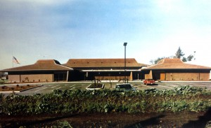 The Sacramento Elks Lodge No. 6 building at 6446 Riverside Blvd. is shown following its completion in the late 1970s. / Photo courtesy of Elks Lodge No. 6