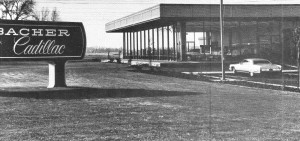 Hubacher Cadillac opened at 1 Cadillac Drive at the northwest corner of Howe Avenue and Fair Oaks Boulevard in 1972. / Photo courtesy of Jacobs family
