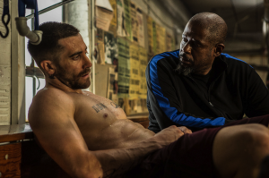 "Jake Gyllenhaal is down for the count until he meets Forest Whitaker in ""Southpaw"". / Photo Credit: The Weinstein Comapny"
