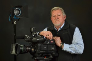 Sacramento resident George Nyberg, who grew up near Town & Country Village, spent 41 years working in film and video production. Photo courtesy of George Nyberg