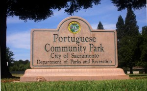 Portuguese Community Park is located at Durfee and Portugal ways in the south Pocket area. / Photo by Lance Armstrong