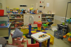 Shown here is one of the children's rooms that had toys, furniture, movies and books for sale at the  liquidation sale at the now-closed Sutter Memorial Hospital. / Photo by Monica Stark