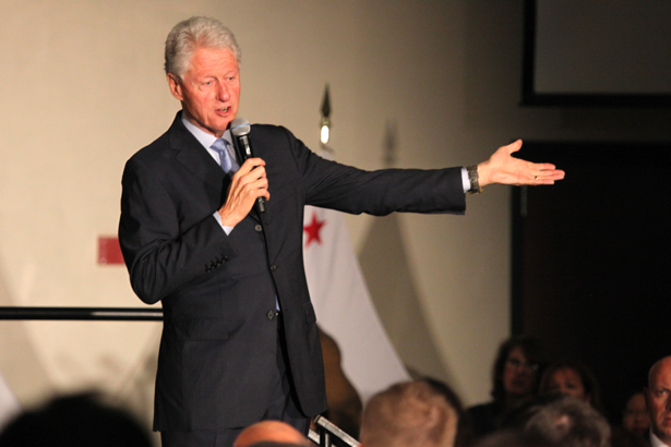 Bill Clinton visits Land Park for Hillary fundraising event