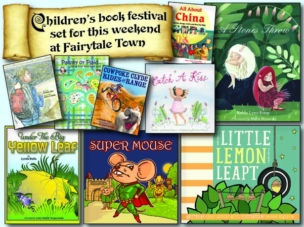 Children's book festival set for this weekend at Fairytale Town