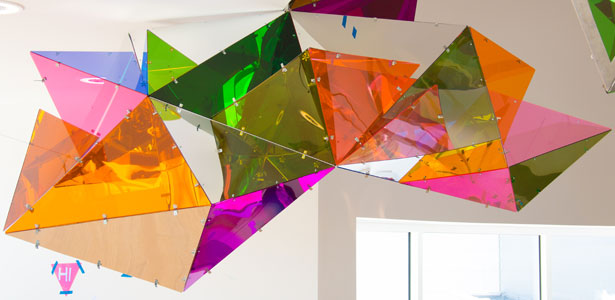 Kaleidoscopic Artwork PL!NK a Highlight of Museum's Newest Art Spots for Kids