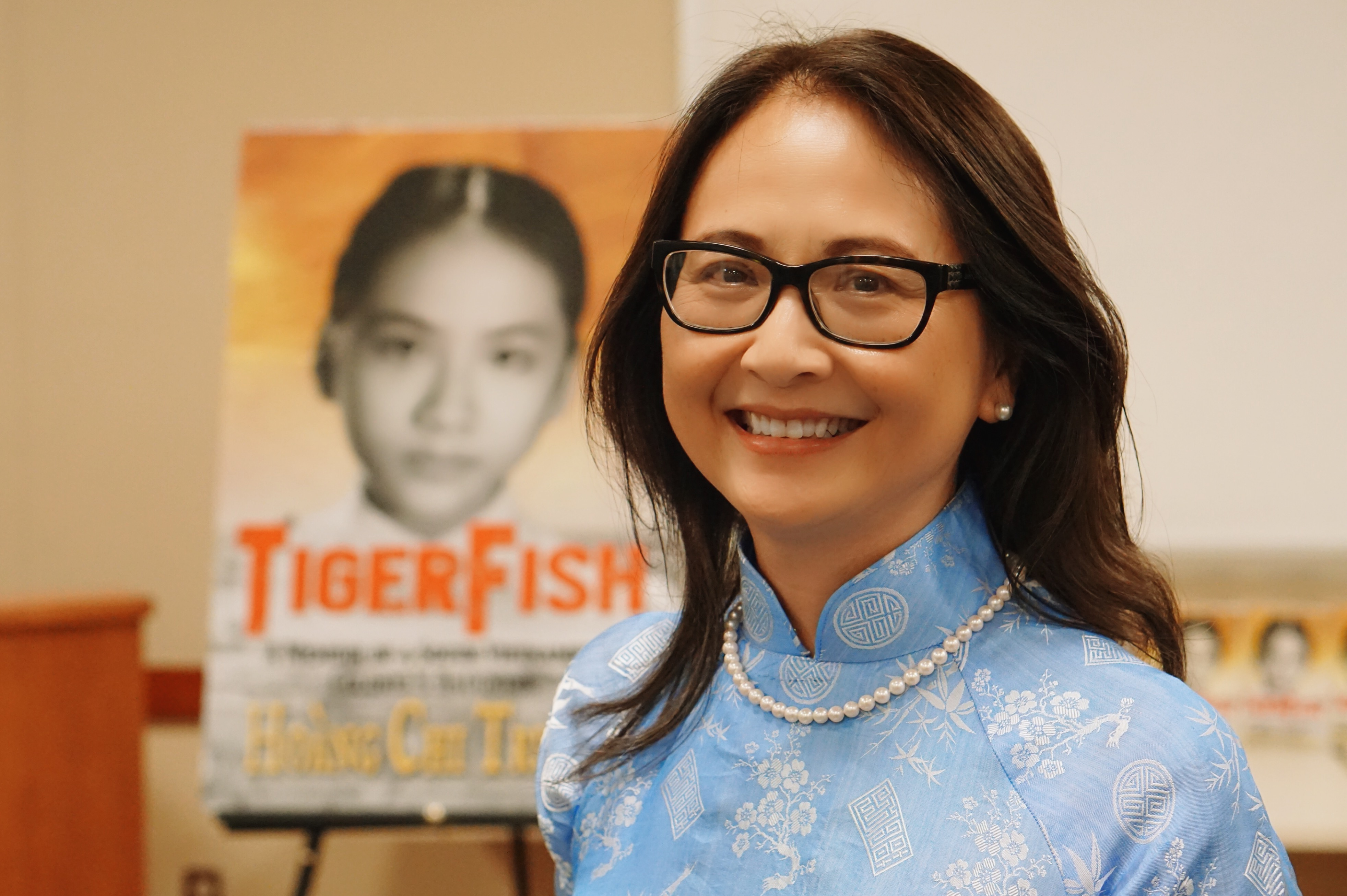 Know your neighbor: Hoàng Chi Trương Smith, author of TigerFish