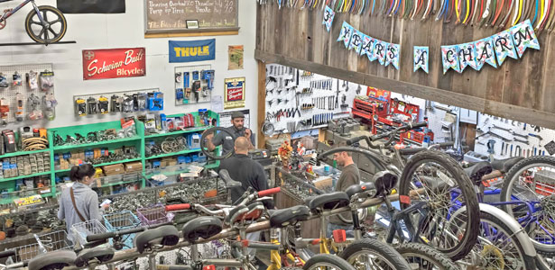 Sutterville Bicycle Company celebrates four years in business and giving back to the community